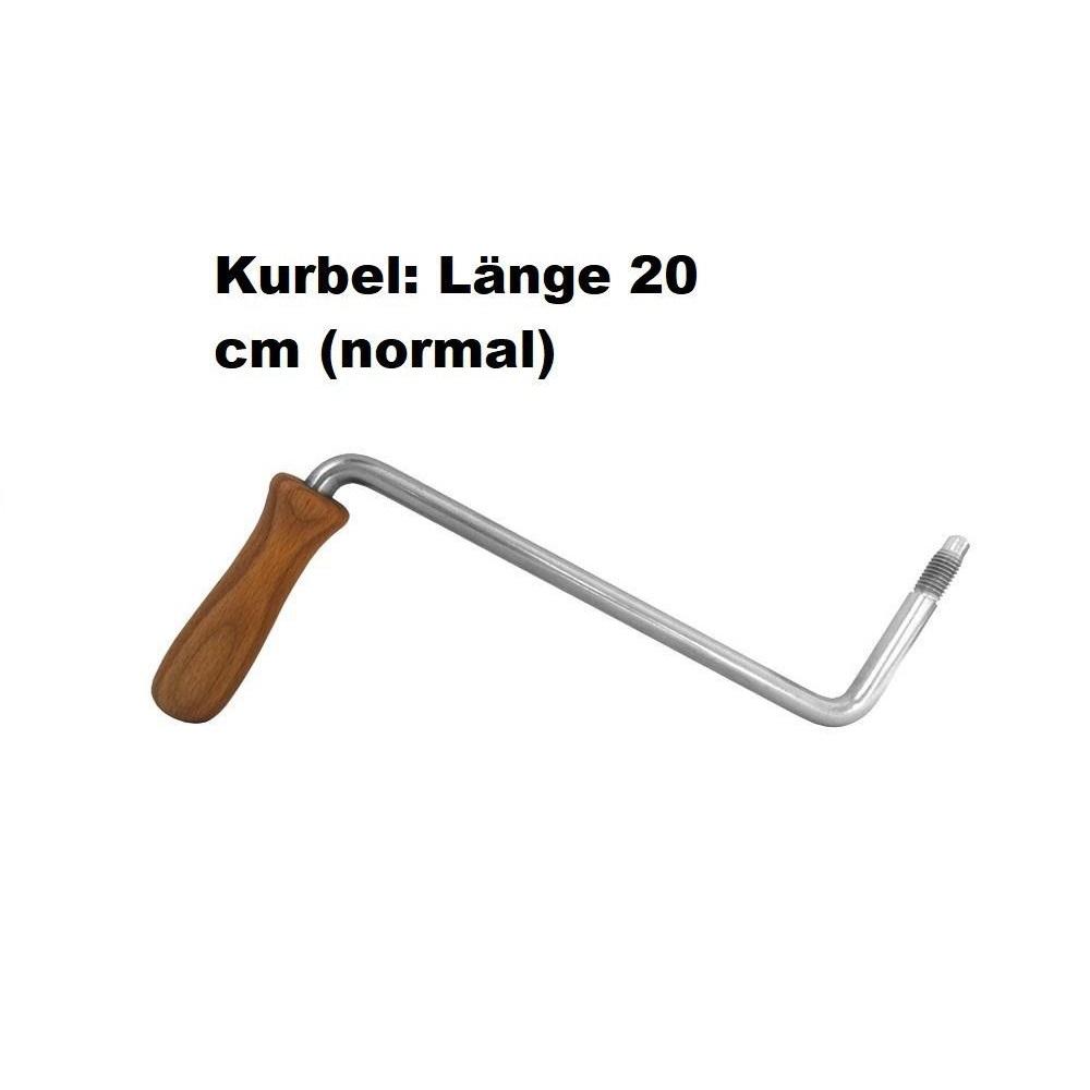 """Kurbel """"Standard"""" für alle Korn-Quetschen, Länge 20 cm (normal) bei uns auf Bestellung (kostenfrei)"""