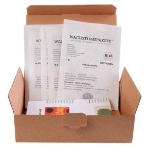 Kindergarten Saatgut-Box S Bio mit Beschreibung und Anbauempfehlungen NEU!