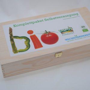 Selbstversorger Saatgut-Box L Bio Krisenvorsorge bis 1200 Euro Selbstversorgung NEU!